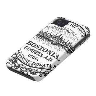 LARGE PRINT Boston Seal iPhone 4 Case-Mate Case