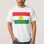LARGE PRINT Kurdistan Flag Tee Shirt