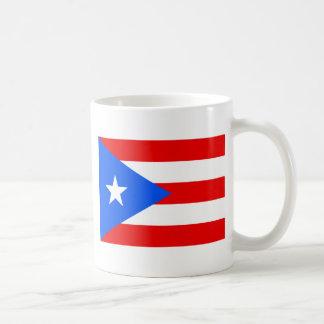 Large Puerto Rican Flag Coffee Mug