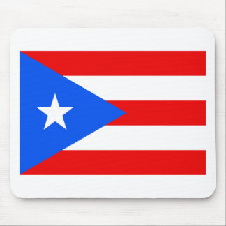 Large Puerto Rican Flag Mouse Pad
