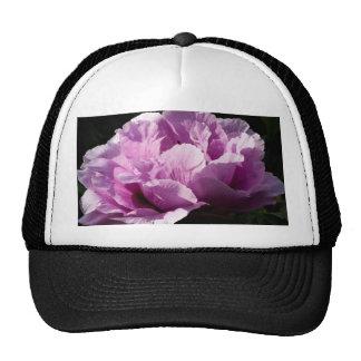 Large Purple Peony Flower Trucker Hat
