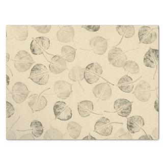 "Large Quaking Aspen Leaf Prints 15"" X 20"" Tissue Paper"