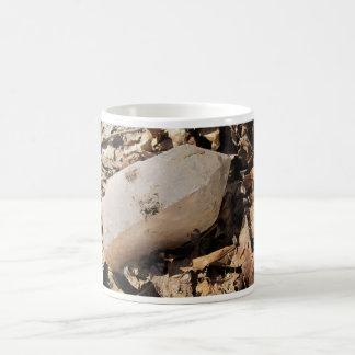 Large Quartz Crystal Coffee Mug