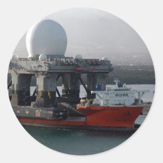 Large Radar Ship Stickers