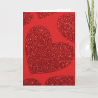 Large Red Heart Valentine Card