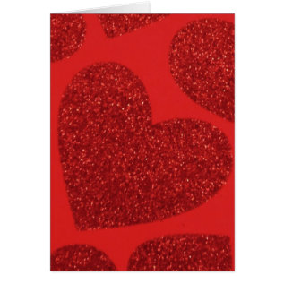 Large Red Heart Valentine Card at Zazzle