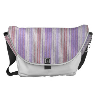 Large Rickshaw Commuter Bag in Softknit Lilac Messenger Bag