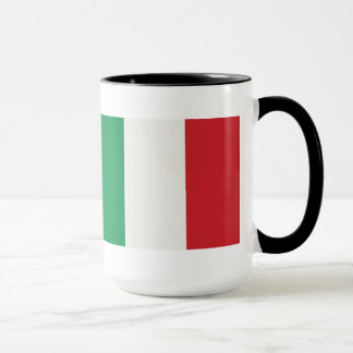 Large Ringer cup black Italy flag