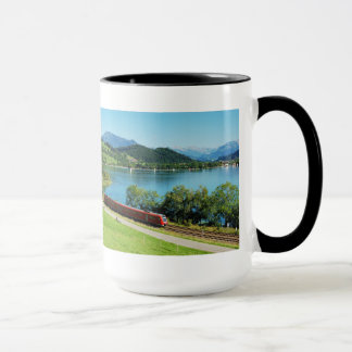 Large Ringer cup black large Alpsee