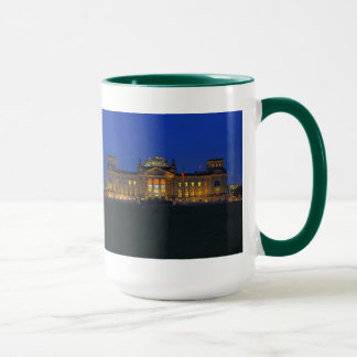 Large Ringer cup green Berlin Reichstag in the