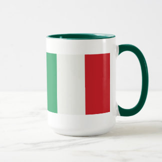 Large Ringer cup green Italy flag