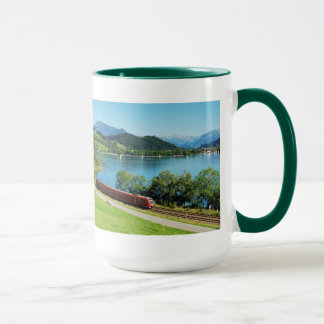 Large Ringer cup green large Alpsee