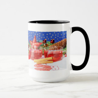 Large Ringertasse glad Christmas Mug