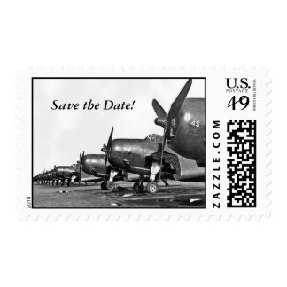 Large - Save the Date! Postage