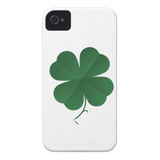 Large Shamrock iPhone 4 Case-Mate Case