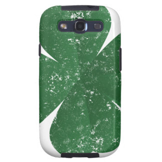 Large Shamrock - vintage style Samsung Galaxy S3 Covers