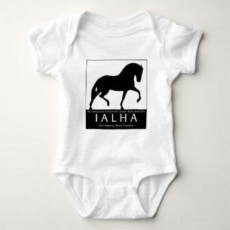 Large Silhouette Logo Baby Bodysuit