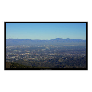 Large Silicon Valley, California Print