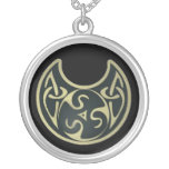 Large Silver Plated Celtic Priestess/Witch Neckles Silver Plated Necklace