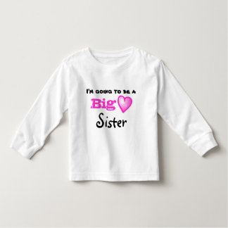 Large sister for the future shirt