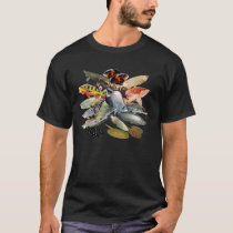 Large-sized fresh water characteristic tropical T-Shirt