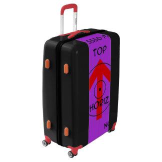 Large Sized Luggage Suitcase - horiz temp