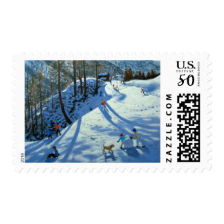 Large Snowball Zermatt Postage