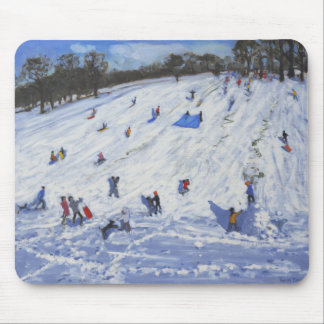 Large snowman Chatsworth 2012 Mouse Pad