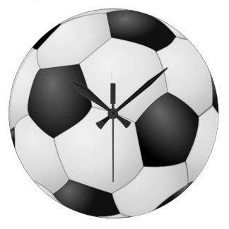 Large Soccer Ball Clock