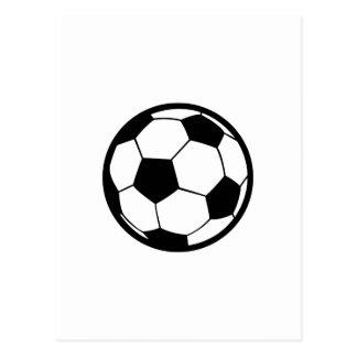 Large Soccer Postcard