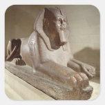 Large Sphinx, from Tanis (granite) Sticker