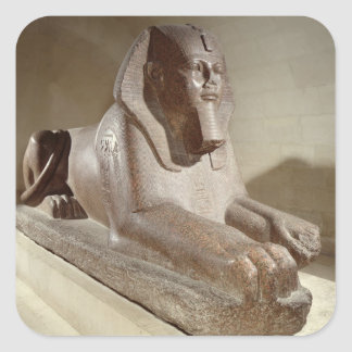 Large Sphinx, from Tanis (granite) Sticker