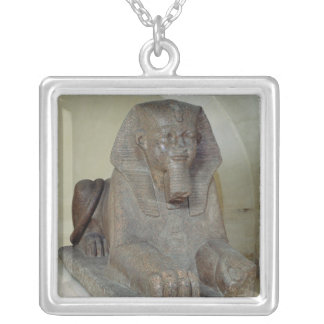 Large sphinx, from Tanis Silver Plated Necklace