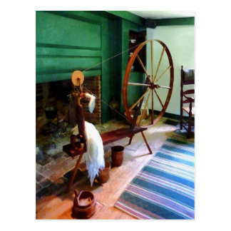 Large Spinning Wheel Postcard