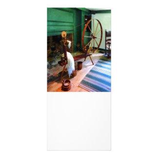 Large Spinning Wheel Rack Card
