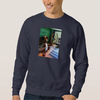Large Spinning Wheel Sweatshirt