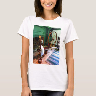 Large Spinning Wheel T-Shirt
