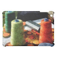 Large Spools of Thread iPad Mini Cases