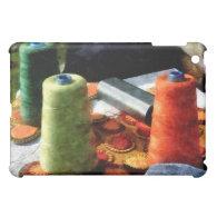 Large Spools of Thread iPad Mini Cases