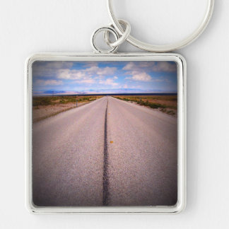 Large Square Photo Keychain