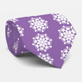 Large sun treasure neck tie