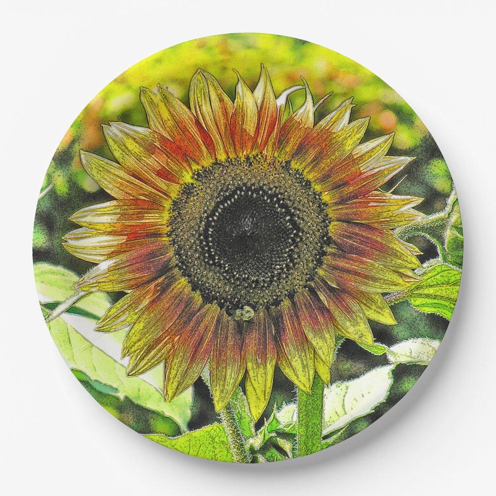 LARGE SUNFLOWER PAPER PLATES by KDSphotography  sc 1 st  Zazzle Forum & Paper Plates Official Show Me Thread - Show Me - Zazzle Forum