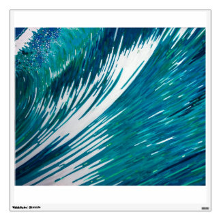Large Surf Wave Wall Decal by M. Juul