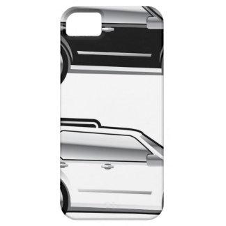 Large SUV stylized with large chrome Rims Vector iPhone SE/5/5s Case