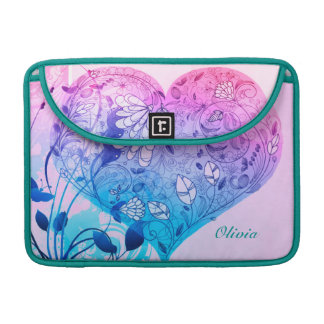 Large Sweet Heart Sleeve For MacBook Pro
