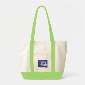 Large Tote - Green Impulse Tote Bag