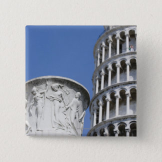 Large urn next to Leaning Tower of Pisa, Italy Button