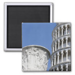 Large urn next to Leaning Tower of Pisa, Italy Refrigerator Magnet
