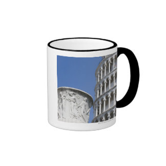 Large urn next to Leaning Tower of Pisa Italy Coffee Mugs