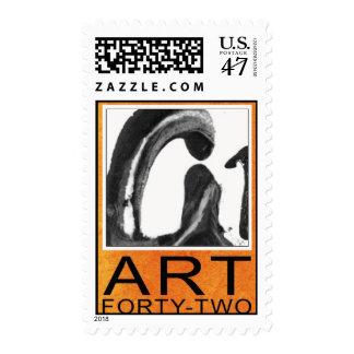 Large Vertical Stamp
